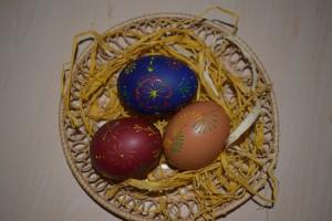 Slovak traditional Easter eggs