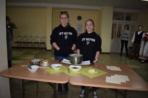 Presenting traditional food Slovakia