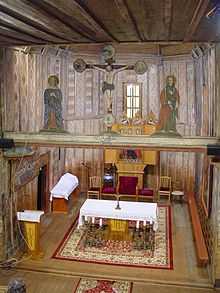 Hervartov Wooden Church-1