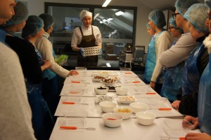 Getting ready to prepare own chocolate