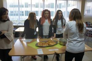 Presenting traditional food Bulgaria