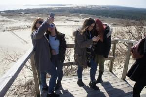 The Baltic Sea dunes