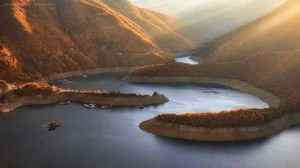the dam Vacha