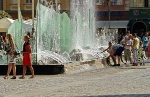 wrocłąw fontanna
