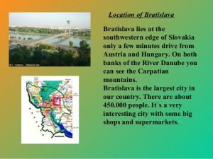 Bratislava the capital
