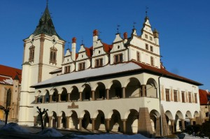 Levoca - charming town, UNESCO world heritage