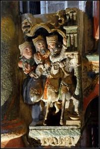 Spain Epiphany, Three Wise Men bring Christmas presents