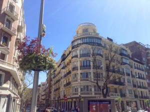 Madrid in spring time