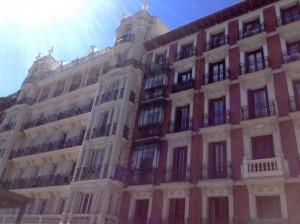 Madrid in spring time