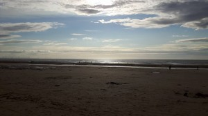 Beautiful shorelines and beaches in Liverpool